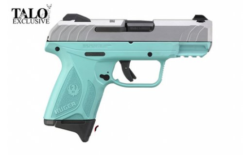 RUGER SEC 9 Compact 9MM S 10RD TURQ