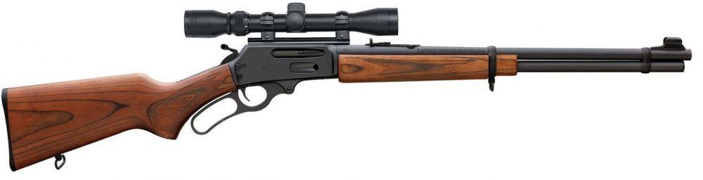 "Marlin 6 + 1 30-30 Winchester w/Scope 20"" Blued Barrel"