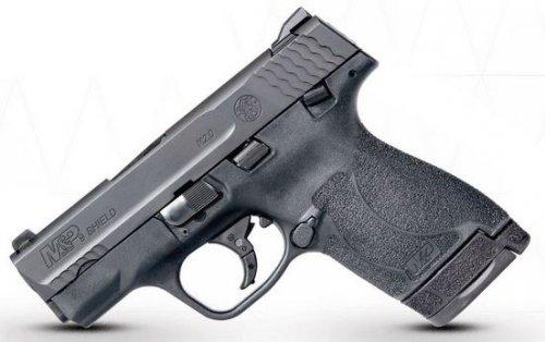 "Smith & Wesson M&P 9 Shield M2.0 9mm 3.1"" Black 7+1/8+1"