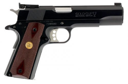 Colt Mfg O5872A1 1911 Gold Cup National Match Series 70 Single