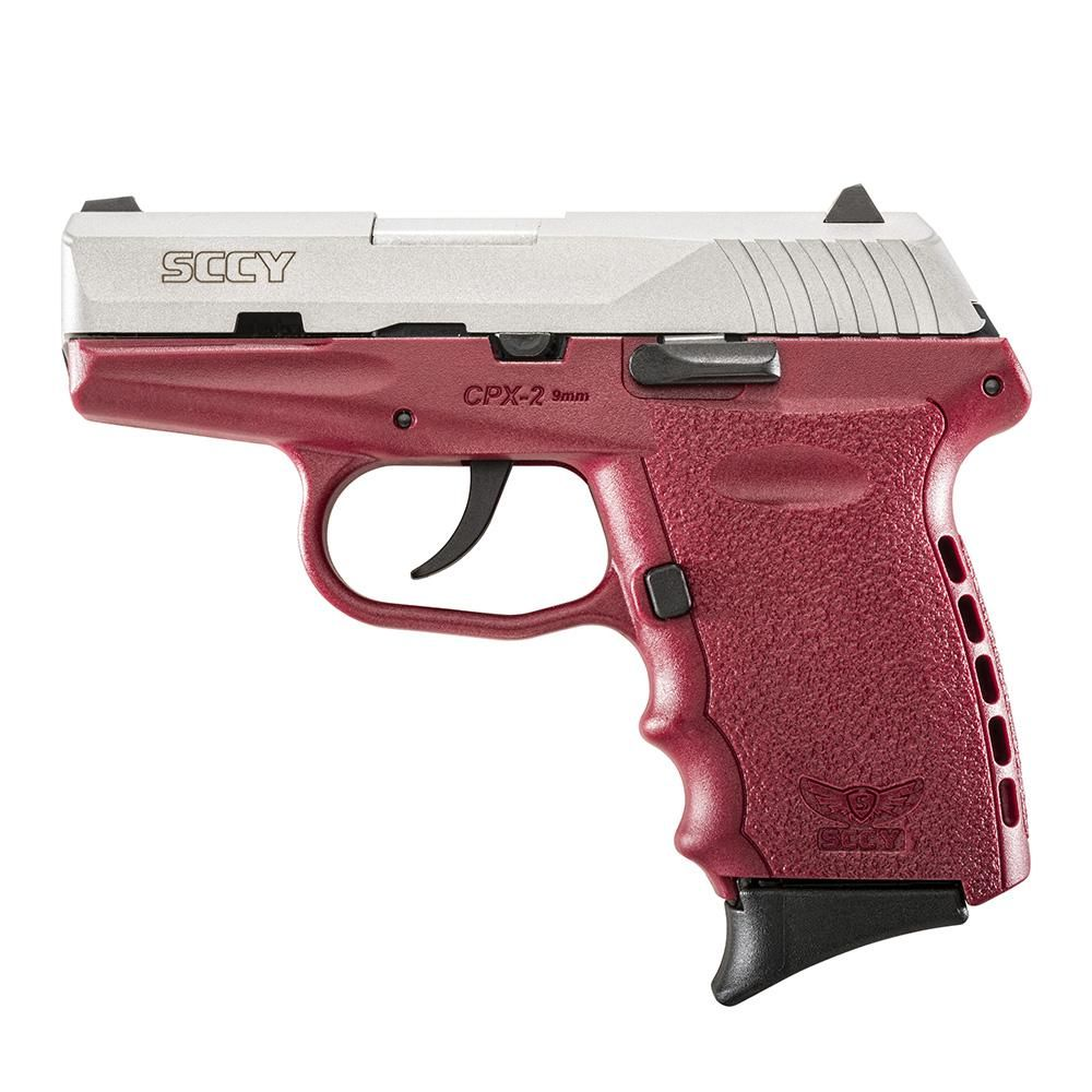 """SCCY Industries CPX2TTCR CPX-2 Double Action 9mm 3.1"""" 10+1 Crim"""