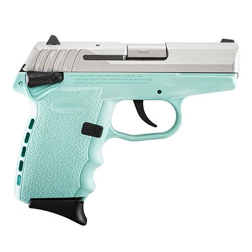 """SCCY Industries CPX1TTSB CPX-1 Double Action 9mm 3.1"""" 10+1 Robi"""