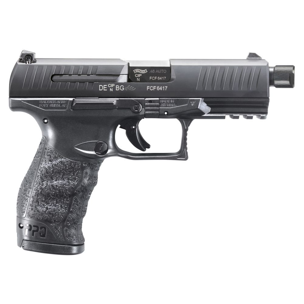Walther Arms PPQ SD 45AP Pistol 4.87 12 Threaded Barrel