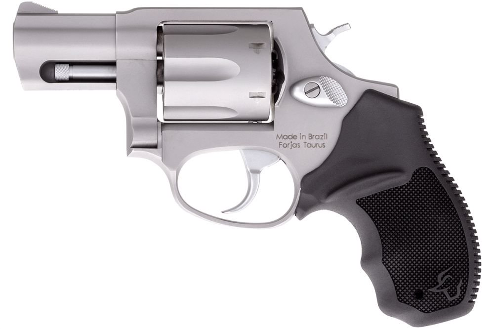 "Taurus 856 Stainless Steel 6 Round .38 Spc w/Fixed Sights/2"" Ba"