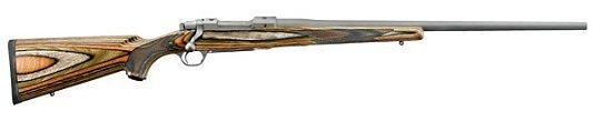 Ruger Stainless 4 + 1 22-250 Rem. Hawkeye Predator/Green/Bro