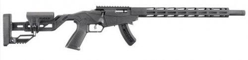 "Ruger Precision Rimfire .22 LR 18"" Black Adjustable Stock 15+1"