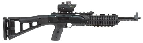 "Hi Point 9MM CARBINE W/RED DOT SCOPE 16.5"" BARREL BLACK SYNT"