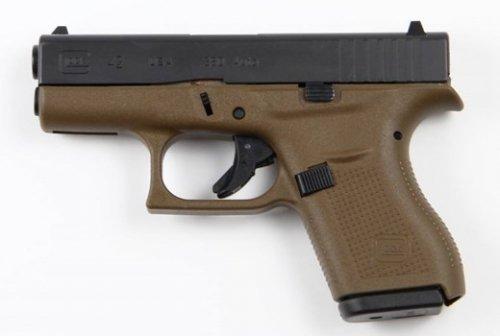 Glock G42 Flat Dark Earth .380 ACP 6Rd 3.25