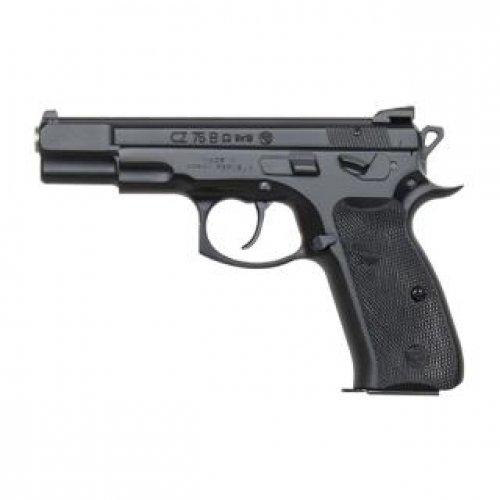 CZ 75 B 9MM OMEGA Black SWAPPABLE SAFE/DECOCKER