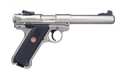 "Ruger Mark IV Target .22 LR Single 5.5"" 10+1 Black Synthetic G"