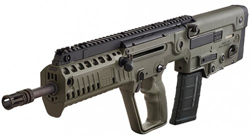 IWI US, Inc. Tavor X95 Bullpup 5.56 16.5 Threaded Barrel Olive