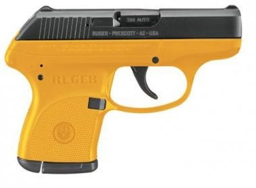 RUGER LCP CONTRACTOR YELLOW .380 ACP