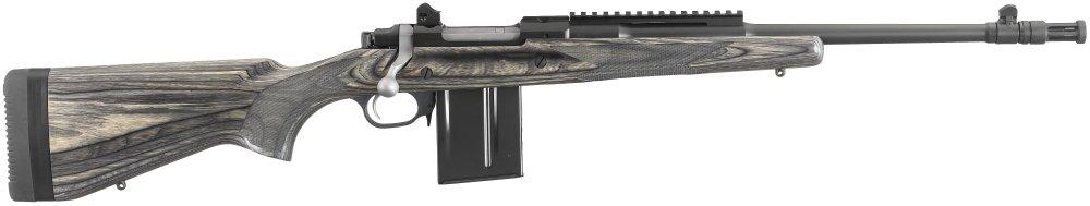 Ruger Gunsite Scout Rifle .308 Winchester Black Laminate Stock