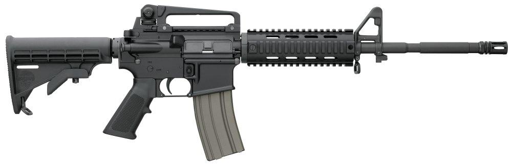 "Bushmaster 90831 XM-15 30+1 .223 REM/5.56 NATO 16"" A3 Quad-Rai"