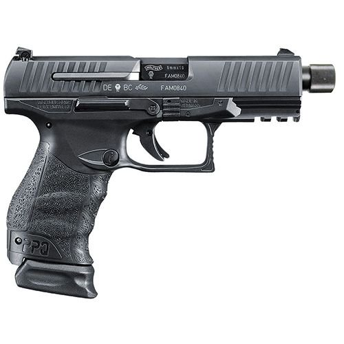 "Walther Arms PPQ M2 9mm Navy SD 4.6"" Threaded Barrel 15+1/17+1"