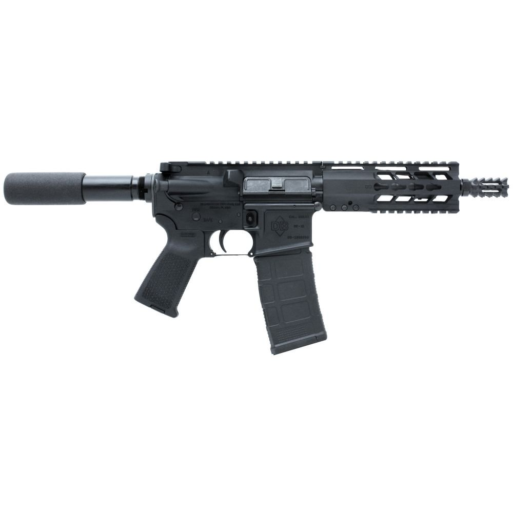 "Diamondback Firearms DB15PB7 Pistol 223 Rem/5.56 NATO 7.5"" Blac"