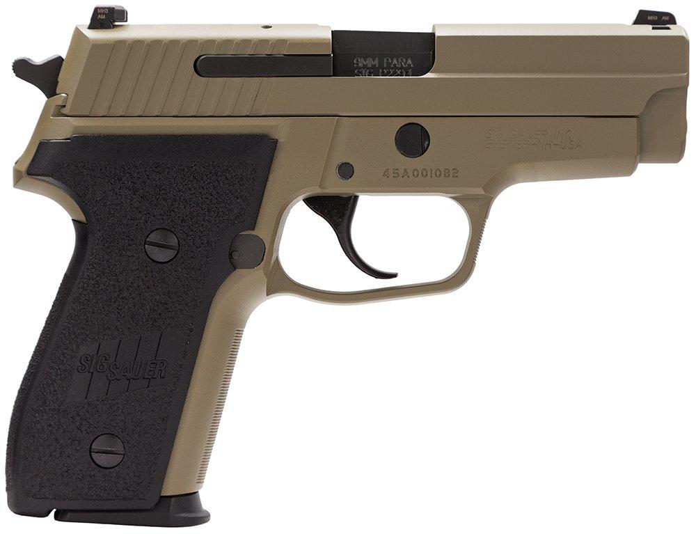 """Sig Sauer M11-A1-D M11A1 Desert 15+1 9mm 3.9"""""""
