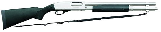 "Remington 870 Marine Magnum 12 GA 18"" Nickel"