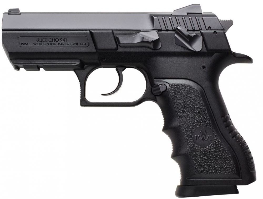 "IWI US, Inc. US J941PSL9 Jericho PSL9 Double Action 9mm 3.8"" 16"